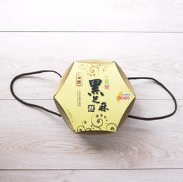 生機黑芝麻糕伴手禮手提六角包裝盒