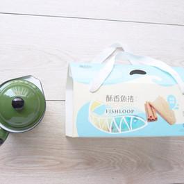香酥魚捲伴手禮點心手提盒