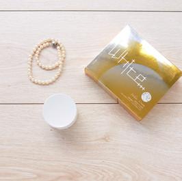 天然植物油美白霜一體成型掀蓋式書本盒