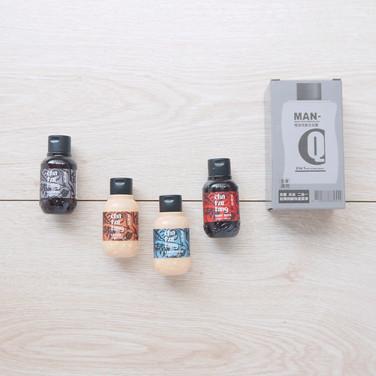 維士比MAN-Q極淨洗髮沐浴露彩盒