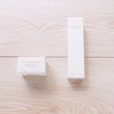 滋養調理霜+透氣隔離粉底乳化妝品盒