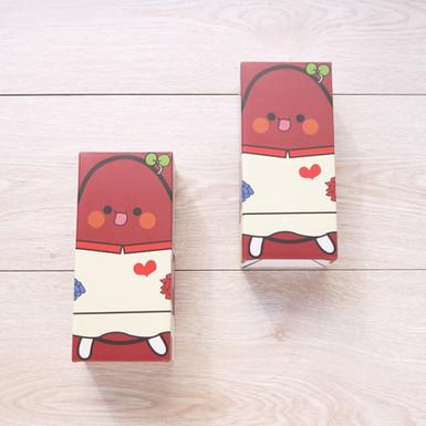 紅豆包熟食調理包外帶盒