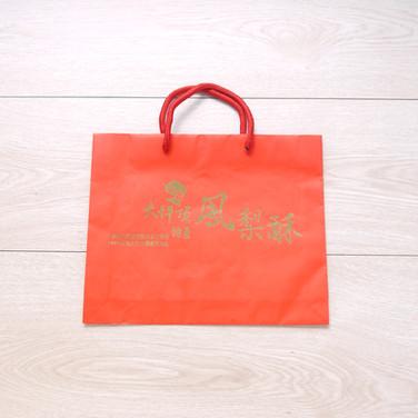 大坪頂鳳梨酥手提紙袋