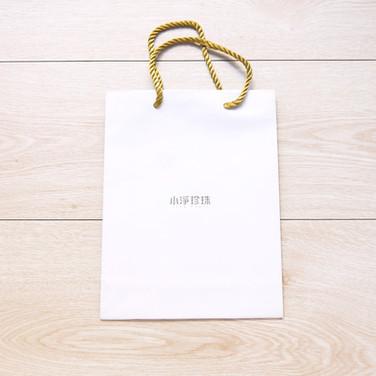 小淨珍珠手提紙袋