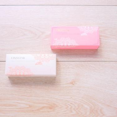 逆時奇蹟精華乳霜+魔術調色CC霜化粧品盒