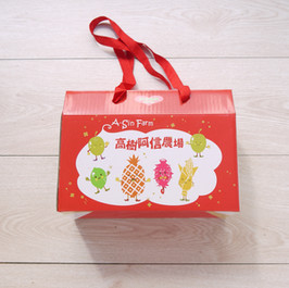 高樹農場蔬果宅配手提盒