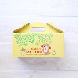 土貓豆TOMATO蕃茄造型水果手提盒