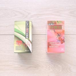 紅景天+維生素E+沙棘油健康食品包裝盒