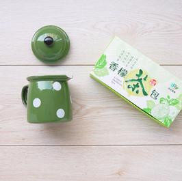 檸檬茶包一體成型掀蓋包裝盒