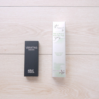 纖長防水睫毛膏+燕麥水性卸妝液化粧品盒