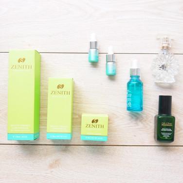 化妝水+乳液+精華液肌膚護理保養組彩盒