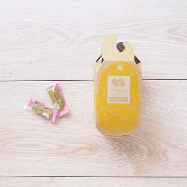 鳳梨造型牛軋糖設計八角包裝盒