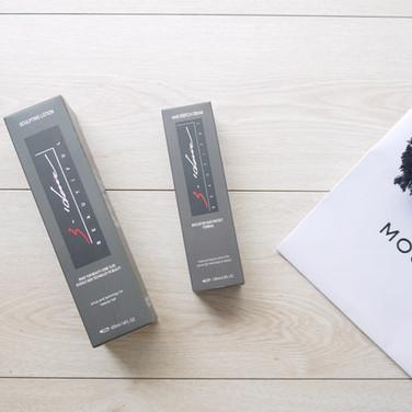 直髮膏+毛髮保濕露彩盒