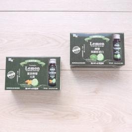 檸檬C水果酵素飲彩盒
