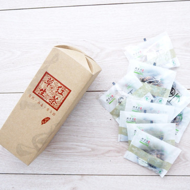 紅茶包花形蓋設計禮盒