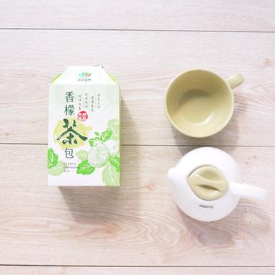 窈窕美顏健康養生香檬茶包設計造型彩盒