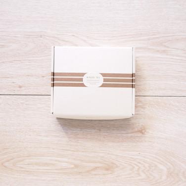 微分子超導美肌修復保養品一體成型掀蓋禮盒