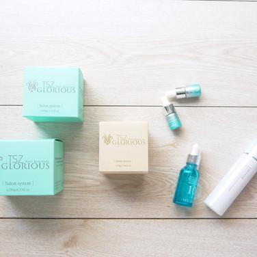 頂級沙龍全效護膚保養品彩盒