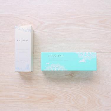 亮妍保濕前導精華晶露+妝前毛乳隱形凝露保養品盒