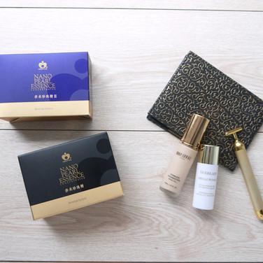 奈米珍珠精華保養品禮盒