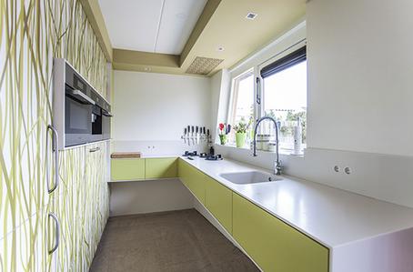 Groene Moderne Keuken