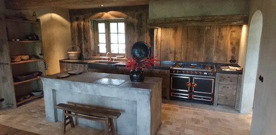 Middeleeuwse Keuken en Interieur
