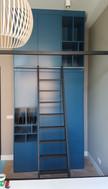 Blauwe Wandkast
