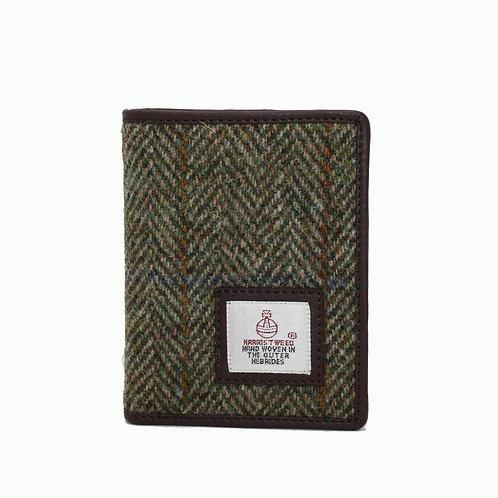 Harris Tweed Slim Bifold Wallet in various colours