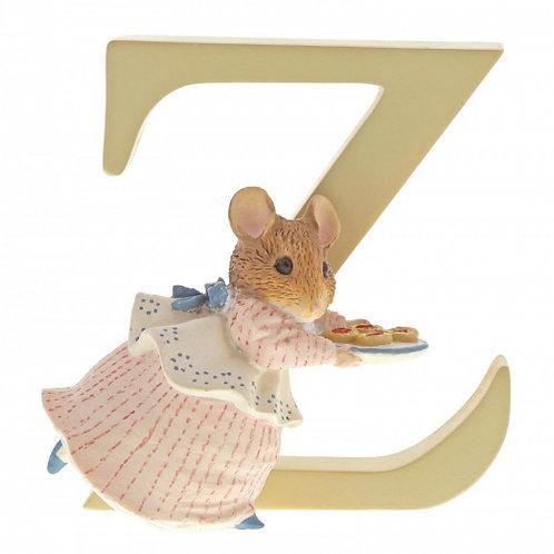 """Beatrix Potter Alphabet Letter - """"Z"""" Appley Dapply"""