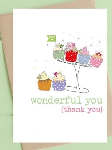 Card: Wonderful You (Thank You)