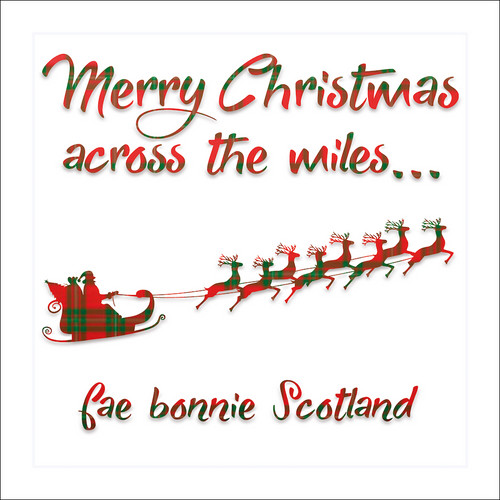 Time for a wee swallie greetings card with envelope 624 in packs merry christmas across the miles greetings card with envelope 624 m4hsunfo