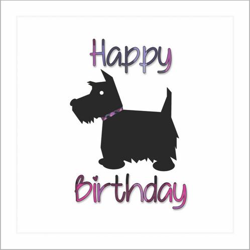 Happy birthday scottie female card happy birthday scottie greetings card from truly scotlands tartan collection m4hsunfo