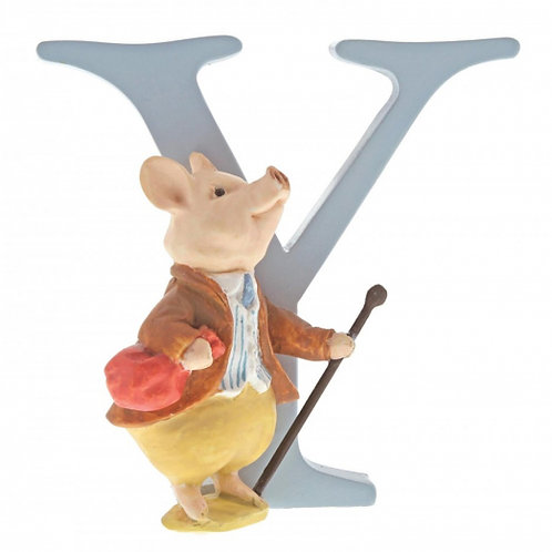 "Beatrix Potter Alphabet Letter - ""Y"" Pigling Bland"