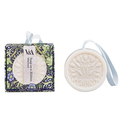 V&A Wild Forest Soap on a Ribbon
