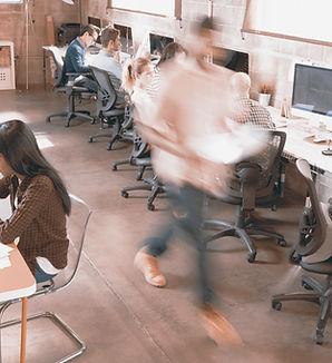 Bureau occupé