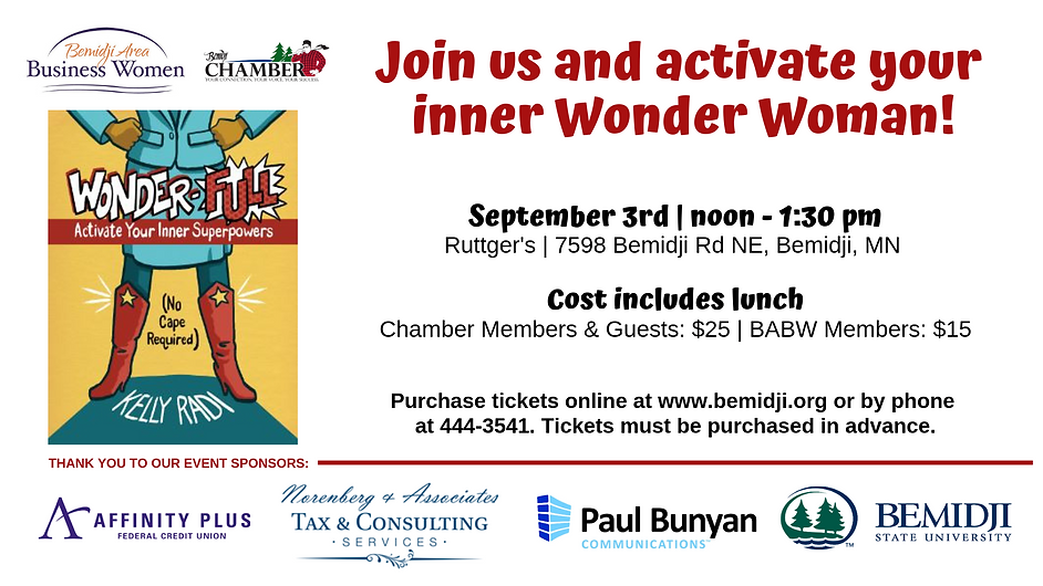 Join us and activate your inner Wonder W