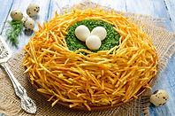 Nest Auerhahn-Salat