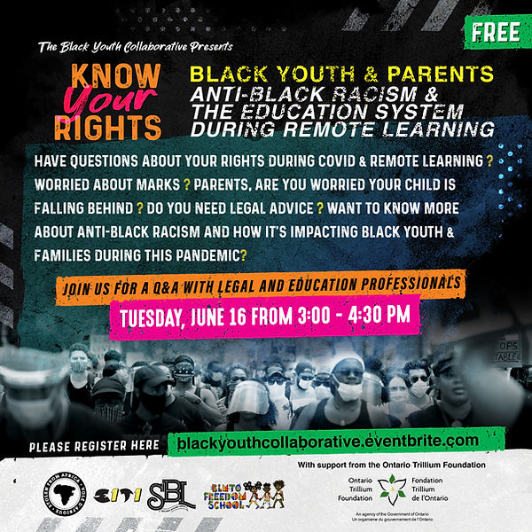 Know Your Rights - Anti-Black Racism & E