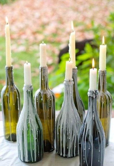 Бутылки винные