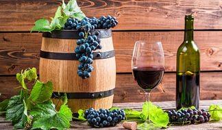 Бочонок малый винный