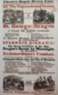 Poster St George and the dragon Ducrow a