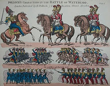 Battle of Waterloo Coloured Toy Theatre