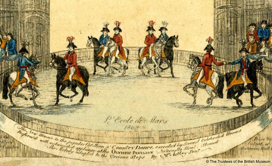 Philip Astley, Ecole de Mars, Olympic Pavilion 1808
