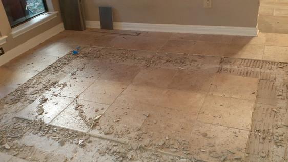 Dust-less Tile Repair