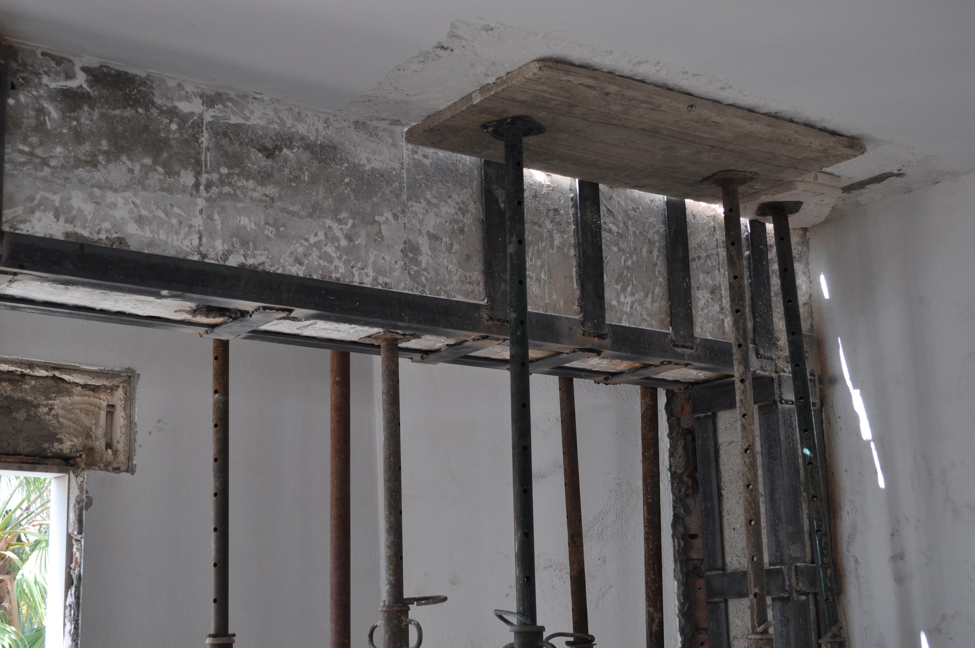Rehabilitación de la estructura