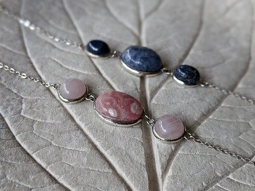 Pulsera con 3 piedras