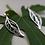 Thumbnail: Aretes de hojas caladas