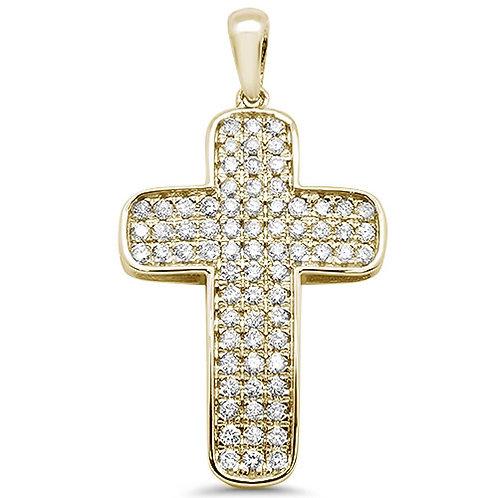 Rounded Diamond Cross