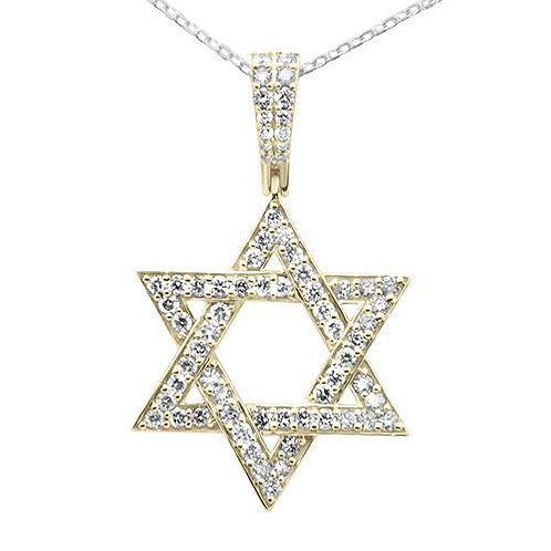 10k Star of David Pendant