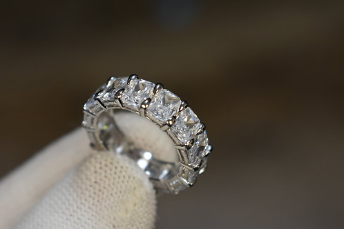 JB Radiant Cut Eternity Band